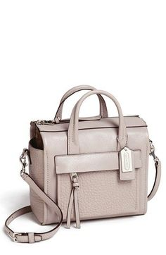 Sick of COACH bags...but this  'Bleecker - Mini Riley' is kinda cute for travel.  Leather Crossbody Bag | Nordstrom