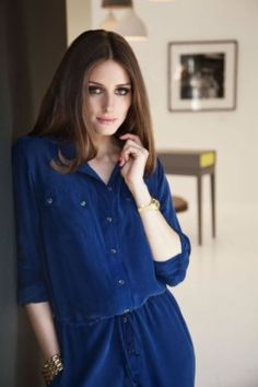 Olivia Palermo Shooting For Vanity Fair at at Kildare Village in Dublin March 24 2012