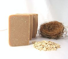 Oats and Honey soap for sensitive skin fragrance free on Etsy, $5.00