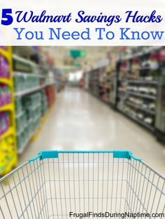Are you a Walmart shopper? If so, you're going to want to make sure you know these 5 savings hacks.