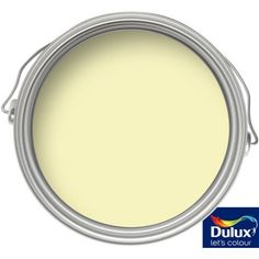 Dulux Light & Space Lemon Spirit - Matt Emulsion Paint - 2.5L