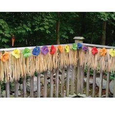Da un toque tropical a tu patio para tu fiesta de verano - de www.fiestafacil.com, €16,95 / Add a tropical touch to your porch for your summer party, from www.fiestafacil.com