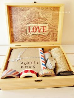 gift inspiration diy letter writing kit from blog de coses kit per escriure cartes