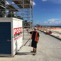 Event storage for Schoolies Week, on the Gold Coast Secure Storage, Self Storage, Storage Pods, Storage Containers, Pods Moving, Temporary Storage, Big Houses, Gold Coast, Storage Solutions