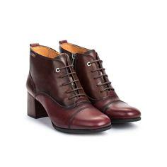Women's Bayona Block Heel Ankle Boot - GARNET / EU 36