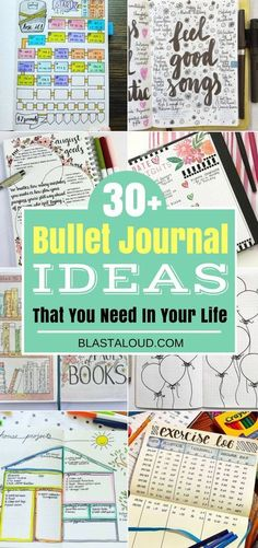 Calling all bullet journal lovers! You need these bullet journal ideas in your life, trust me! Awesome bullet journal spreads, ideas and trackers! #bulletjournal #bulletjournalideas #bulletjournalspreads