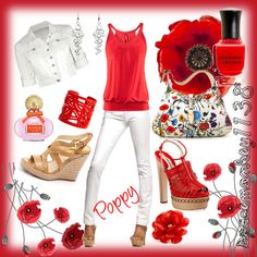Poppy, created by spacemonkey1138: susieduval.polyvore.com