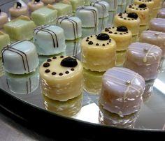 Confectionary Designs: Petit Fours - Mini Frangipane Cakes
