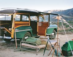 Woody camping...Re-Pin Brought to you by #HouseofInsurance Eugene/Springfield Or.