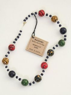 African Beaded Multicolor Jewelry
