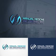 Come up with a creative, unique but slick physical therapy business logo Sports Physical Therapy, Massage Logo, Clinic Logo, Logo Psd, Medical Office Design, Sports Graphic Design, How To Treat Anxiety, Medical Logo, Logo Concept
