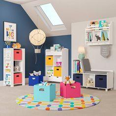 Book Nook Kids Cubby Storage Tower With Bookshelves - RiverRidge : Target Kids Storage Bench, Toy Storage Bins, Paint Storage, Storage Spaces, Kids Cubbies, Book Racks, Toddler Furniture, Wall Shelves, Kids Bedroom