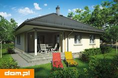 DOM.PL™ - Projekt domu AT Tip Top Bis CE - DOM AT3-35 - gotowy koszt budowy Gazebo, Outdoor Structures, Outdoor Decor, Tips, Home Decor, Houses, Home, Kiosk, Decoration Home