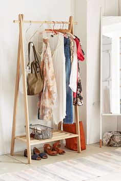 Creative Hangers - How To Make Your Exposed Closet Look Elevated - Photos