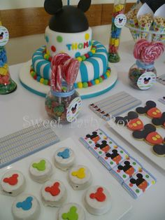 Sweet Party Box: Club House... Mickey Mickey Mouse! Cumple de Thomas
