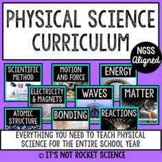 Physical Science Curriculum - Full Year BUNDLE