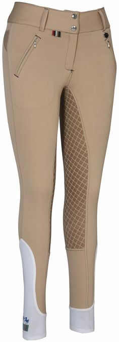 Equine Couture Beatta Full Seat Breeches Safari