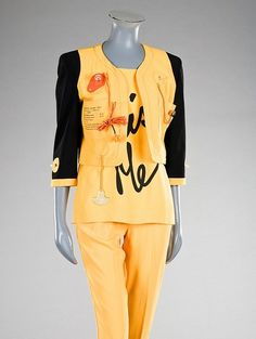 Cruise Me Baby Franco Moschino, 1991 Kerry Taylor Auctions
