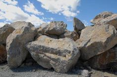 New Mexico Travertine- Gravel & Boulders For Landsape & Xeriscape Projects
