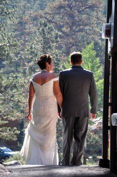 Here come's the bride!