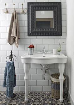 MOZA Cementtiles Manufactory Hungary Vanity, Bathroom, Hungary, Google Search, Dressing Tables, Washroom, Powder Room, Vanity Set, Full Bath