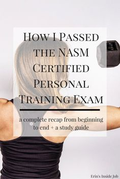 Prepping for the NASM Certified Personal Training Exam? Here is my complete recap from when I purchased my study materials all the way through the exam itself. Helpful tips and LOTS of insight into the test format (PLUS a discount! Training Fitness, Fitness Tips, Fitness Motivation, Fitness Exercises, Health Fitness, Fitness Trainer Certification, Ace Fitness, Enjoy Fitness, Training Motivation