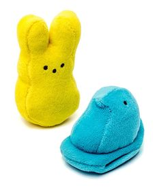 Terry peeps for chewing perhaps, but not for eating.