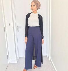 Turban + palazzo pants