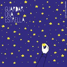 Rastros Ilustrados: Guardar una estrella/Save a star - Think impossibl...
