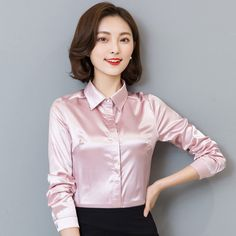 >> Click to Buy << High quality elegant intellectuality women's long sleeve blouse chiffon tops female all-match loose plus size shirt QH0114 #Affiliate