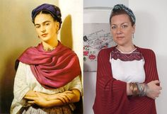 verdementa - fashion from my curvy point of view: #Outfit   #Frida is my muse #fridakahlo