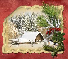 Vánoční obrázky třpytivé | vánoční blog