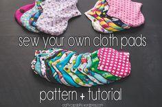 DIY Cloth Pad Tutorial
