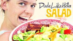 DudeLikeHELLA SALAD (Recipes for Cory)
