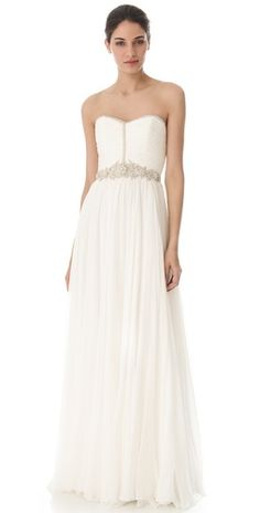 Reem Acra I'm Ready Gown | SHOPBOP