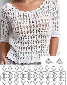 Fabulous Crochet a Little Black Crochet Dress Ideas. Georgeous Crochet a Little Black Crochet Dress Ideas. T-shirt Au Crochet, Cardigan Au Crochet, Gilet Crochet, Mode Crochet, Crochet T Shirts, Black Crochet Dress, Crochet Jacket, Freeform Crochet, Crochet Woman