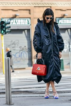 Tommy Ton Shoots the Best Street Style at the Fall '15 Shows - Georgia Tal