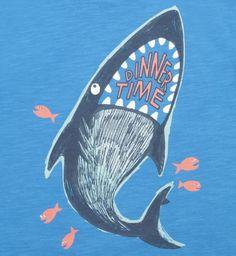 Boys 3 Pack Shark Tees - Mini Club - Boots