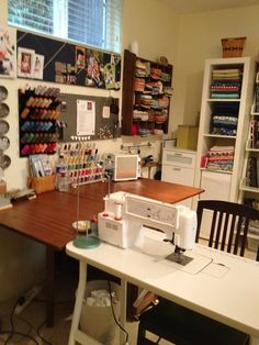IKEA Sewing Room Ideas | Sewing Room of the Month - Art Gallery Fabrics - The Creative Blog