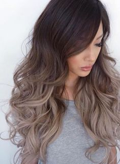 Balayage staining technique has long been very popular among women of all ages and tastes. Today we'll talk about painting balayage for blond hair. Pretty Hairstyles, Wig Hairstyles, Female Hairstyles, Hairstyles 2016, Wedding Hairstyles, Unique Hairstyles, Hairstyle Ideas, Sweet Hairstyles, Fashion Hairstyles