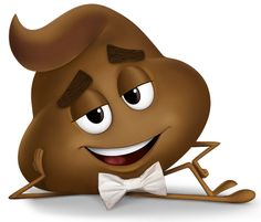 "Poop from ""The Emoji Movie"" Smiley Emoji, Smiley T Shirt, Iphone Wallpaper Fall, Emoji Wallpaper, Cute Cartoon Pictures, Funny Pictures, Smileys, Emoji Caca, Naughty Emoji"