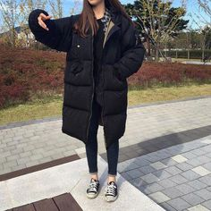 The Best Examples for Korean Street Fashion Korean Fashion Winter, Korean Fashion Trends, Korean Street Fashion, Korea Fashion, Japan Fashion, Daily Fashion, Pretty Outfits, Cool Outfits, Casual Outfits