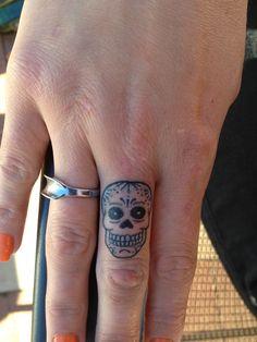 Mexican skull tattoo!:)