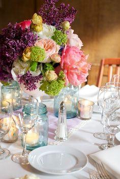 Brunch table setting