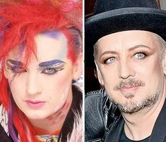 Boy George: Culture Club's singer, 53, became a top DJ in the Nineties. Openly gay, he bat...