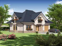 Projekt domu Diogenes 142,6 m2 - koszt budowy - EXTRADOM