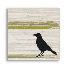 Find it at the Foundary - Blackbird Green Giclee Print