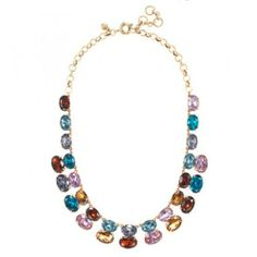 J.Crew Gem Stack Necklace Original $98.00 Now $68.95 Free Shipping Worldwide - JewelsGood