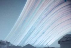 12 month solargraph, winter solstice to winter solstice.