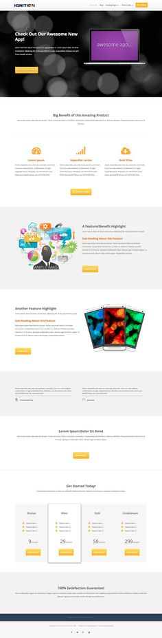 Ignition #WordPress Product #Marketing Page Theme - www.wpchats.com